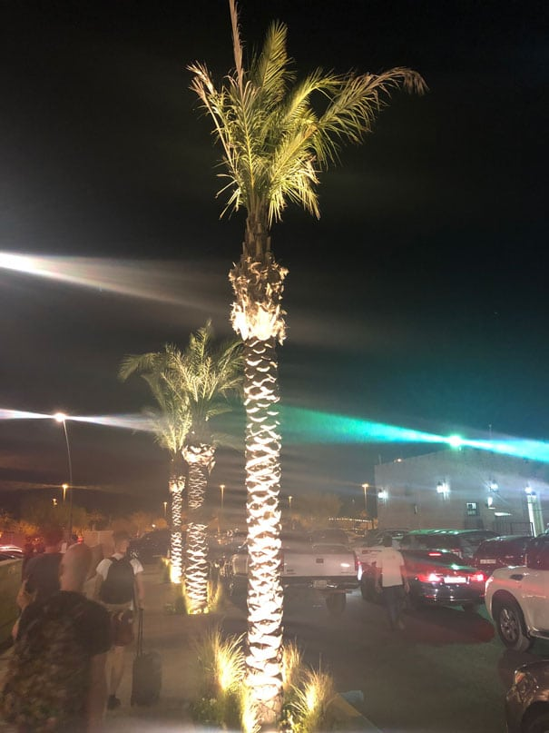 Special atmosphere in Kuwait - after the Light show